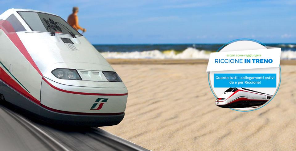 Riccione in treno: l\'hotel rimborsa il viaggio - Riccione Last Minute