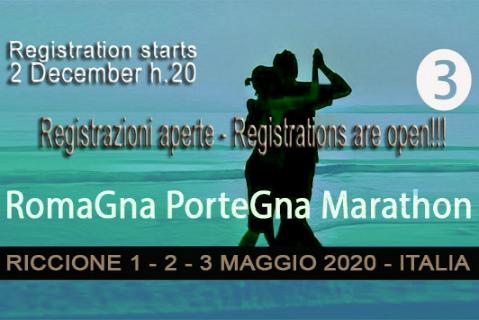 Offerta Maratona di Tango Riccione Romagna Portegna